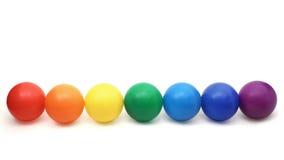 Cores do arco-íris Foto de Stock Royalty Free