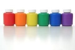 Cores do arco-íris Fotografia de Stock Royalty Free