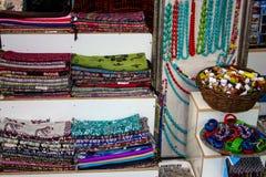 Cores do bazar da cidade velha do Jerusalém em Israel Imagem de Stock Royalty Free
