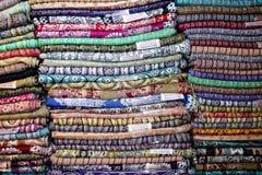 Cores do bazar da cidade velha do Jerusalém em Israel Foto de Stock Royalty Free