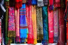 Cores do bazar da cidade velha do Jerusalém em Israel Fotografia de Stock