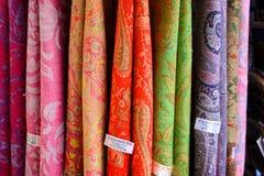 Cores do bazar da cidade velha do Jerusalém em Israel Foto de Stock