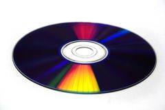 Cores do disco compacto Imagens de Stock Royalty Free