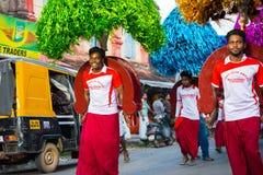 Cores do festival de Mullakkal Chirappu Fotografia de Stock Royalty Free