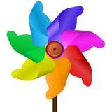 Cores do moinho de vento Imagens de Stock Royalty Free