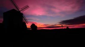 Cores do nascer do sol Imagens de Stock