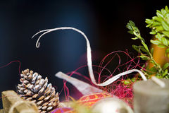 Cores do Natal imagem de stock royalty free