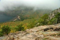 Cores do outono, Acadia Imagens de Stock Royalty Free