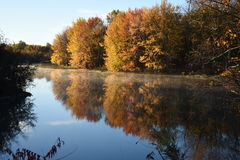 Cores do outono - automnale de Couleur Foto de Stock