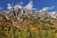 Cores do outono da passagem de Rogers fotografia de stock royalty free