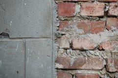 cores do ponto morto do muro de cimento da textura Fotografia de Stock Royalty Free