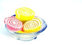Cores dos doces da geleia Fotografia de Stock