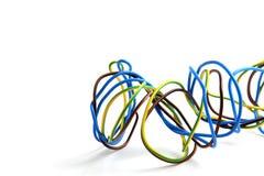 Cores dos fios Imagem de Stock Royalty Free
