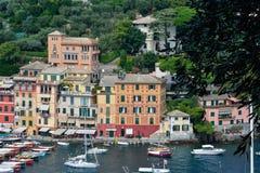 Cores em Portofino Fotografia de Stock
