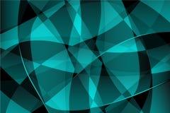 Cores geométricas do fundo, as azuis e as pretas Imagens de Stock