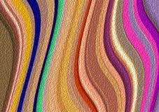 Cores macias abstratas, bolhas, formas, fundo colorido ilustração do vetor