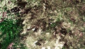 Cores macias brilhantes brancas cinzentas marrons pretas, fundo de pintura borrado da aquarela, fundo abstrato da aquarela da pin fotografia de stock