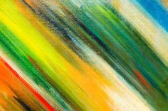cores na lona encontrada diagonalmente: cores verdes e amarelas Fotos de Stock