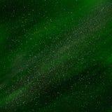 Cores surpreendentemente bonitas da aurora boreal Imagens de Stock