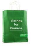Cores unidas original do saco de compras do papel de Benetton imagem de stock royalty free