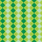 Cores verdes misturadas da textura da camisola Fotografia de Stock