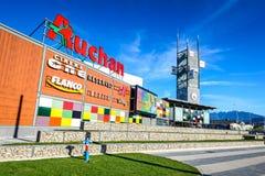 Coresi Shopping Center, Brasov, Romania royalty free stock photo