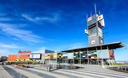 Coresi Shopping Center, Brasov, Romania stock image