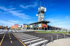 Coresi Shopping Center, Brasov, Romania stock photography