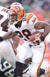 Corey Dillon. Cincinnati Bengals RB Corey Dillon. (Image taken from color slide royalty free stock photo
