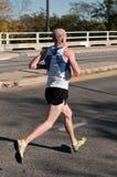 Corey White - 2010 Twin Cities Marathon Royalty Free Stock Images