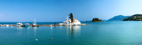 Corfù è un paradiso meraviglioso Fotografia Stock Libera da Diritti