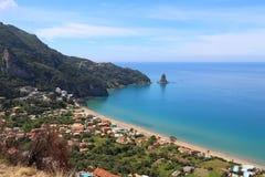 Corfù - Agios Gordios immagini stock