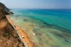 Corfù in Grecia Immagini Stock