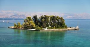 Corfú en Grecia Fotografía de archivo libre de regalías
