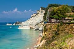 Corfú en Grecia Fotos de archivo libres de regalías