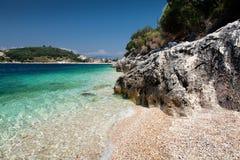 Corfú en Grecia Foto de archivo libre de regalías