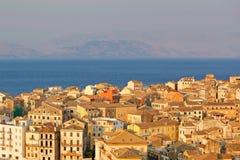 Corfú, Grecia Fotos de archivo libres de regalías