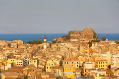 Corfú, Grecia Imágenes de archivo libres de regalías