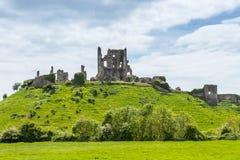 Corfe城堡 库存图片