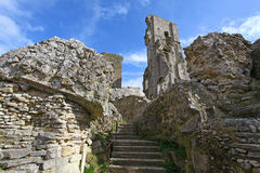 Corfe Castle Royalty Free Stock Photos