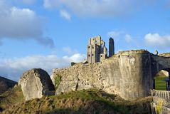 Corfe Castle Stock Image