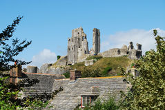 Corfe Castle, Dorset Royalty Free Stock Photos