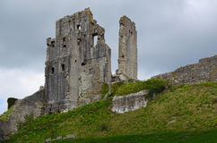 Corfe Castle, Dorset, England Royalty Free Stock Photography