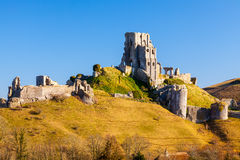 Corfe Castle Dorset England stock photos