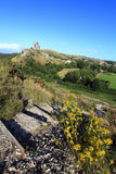 Corfe Castle Dorset Royalty Free Stock Image