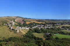 Corfe Castle Dorset Stock Photography