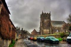 Corfe Castle HDR Stock Photo