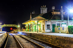 Corfe Castle station Stock Images