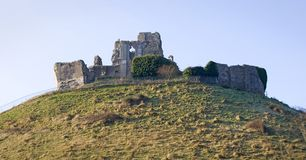 Corfe Castle, in Swanage, Dorset, Southern England royalty free stock images