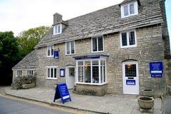 Corfe Castle Tea Rooms, Dorset. Royalty Free Stock Photo